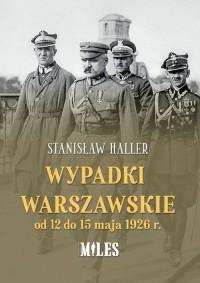 Wypadki warszawskie od 12 do 15 - okładka książki