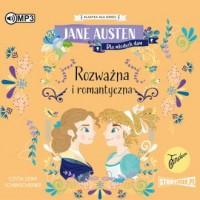 Rozważna i romantyczna (CD mp3) - pudełko audiobooku