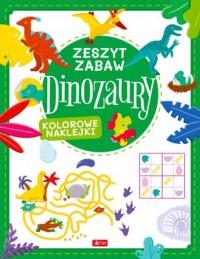 Diznozaury. Zeszyt zabawy - okładka książki