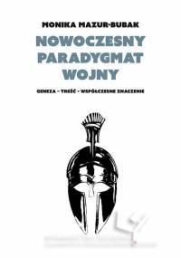 Nowoczesny paradygmat wojny. Geneza - okładka książki