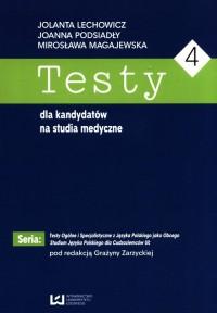 Testy dla kandydatów na studia - okładka podręcznika