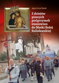 Z dziejów pieszych pielgrzymek - okładka książki