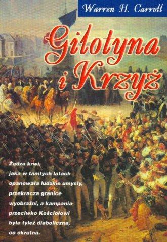 Gilotyna i krzyż - okładka książki