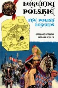 Legendy polskie (wersja pol.-ang.) - okładka książki