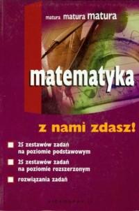 Matematyka - Z NAMI ZDASZ! - Krystyna Skórnik - okładka podręcznika