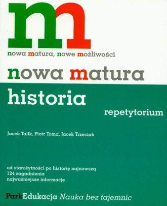 Nowa matura. Historia. Repetytorium - okładka podręcznika