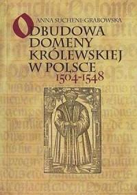 Odbudowa domeny królewskiej w Polsce 1504-1548 - okładka książki