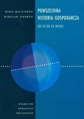 Powszechna historia gospodarcza - okładka książki
