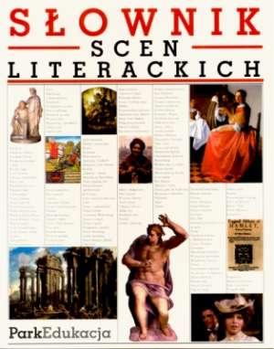Słownik scen literackich - okładka książki