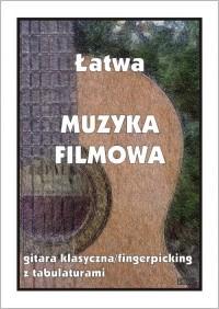 Łatwa Muzyka Filmowa - gitara klasyczna - okładka książki