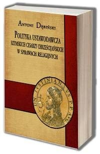 Polityka ustawodawcza rzymskich - okładka książki