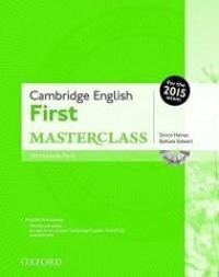 Cambridge English First Masterclass - okładka podręcznika