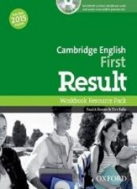 Cambridge English First Result - okładka podręcznika