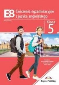 E8. Ćwiczenia egz. z języka angielskiego - okładka podręcznika
