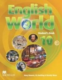 English World 10 SB MACMILLAN - okładka podręcznika