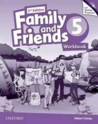 Family and Friends 2E 5 WB + online - okładka podręcznika