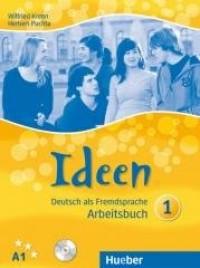 Ideen 1 AB A1 + CD HUEBER - okładka podręcznika