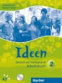 Ideen 2 AB A2 + 2 CD HUEBER - okładka podręcznika