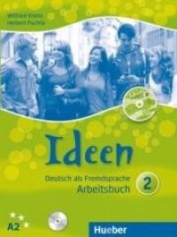 Ideen 2 AB A2 + 3 CD - okładka podręcznika