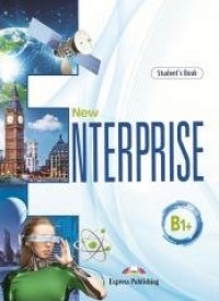 New Enterprise B1+ SB - okładka podręcznika