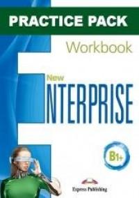 New Enterprise B1+ WB Practice - okładka podręcznika