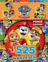 Psi Patrol 525 Naklejek - okładka książki
