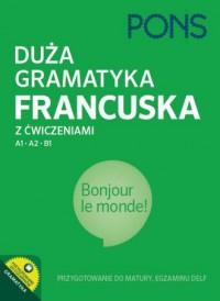 Duża gramatyka francuska z ćwiczeniami - okładka podręcznika