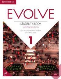 Evolve 1 Students Book with Practice - okładka podręcznika