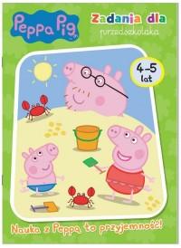 Peppa Pig. Zadania dla przedszkolaka. - okładka książki