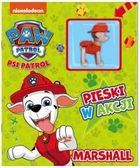 Psi Patrol. Pieski w Akcji. Marshall - okładka książki