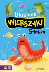 Ulubione wierszyki 5-latka - okładka książki