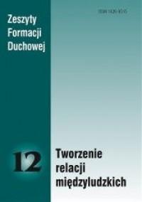 Zeszyty Formacji Duchowej nr 12. - okładka książki