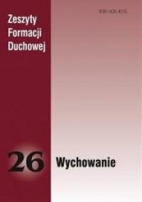 Zeszyty Formacji Duchowej nr 26. - okładka książki