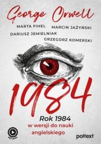1984. Rok 1984 w wersji do nauki - okładka podręcznika