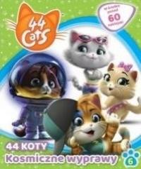 44 koty 6 Kosmiczne wyprawy - okładka książki