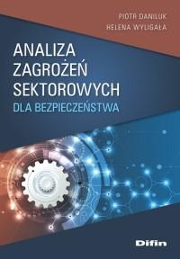 Analiza zagrożeń sektorowych dla - okładka książki
