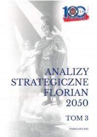Analizy strategiczne Florian 2050. - okładka książki