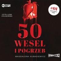 50 wesel i pogrzeb (CD mp3) - pudełko audiobooku