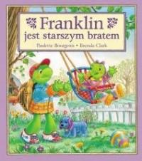 Franklin jest starszym bratem. - okładka książki