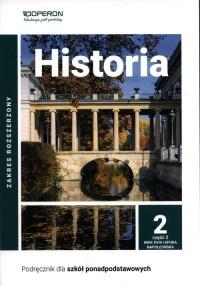 Historia. LO 2. Podręcznik. Zakres - okładka podręcznika