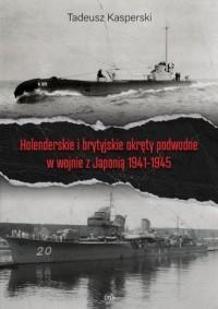 Holenderskie i brytyjskie okręty - okładka książki