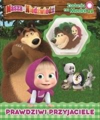 Masza i Niedźwiedź Zadania na medal. - okładka książki