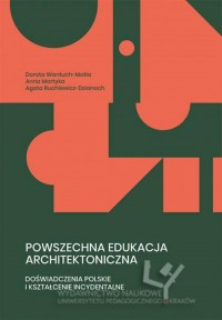Powszechna edukacja architektoniczna. - okładka książki