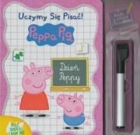 Świnka Peppa Uczymy się pisać! - okładka książki