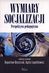 Wymiary socjalizacji - okładka książki
