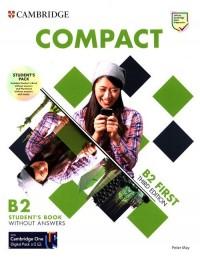 Compact First B2 Students Pack - okładka podręcznika