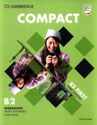 Compact First Workbook with Answers - okładka podręcznika