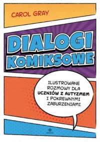 Dialogi komiksowe. Ilustrowane - okładka książki
