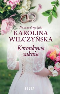 Koronkowa suknia - okładka książki