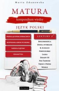 Matura, kompendium wiedzy. Język - okładka podręcznika